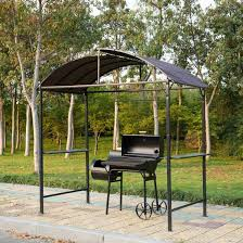 metal smoking gazebo marquee garden patio bbq tent grill canopy