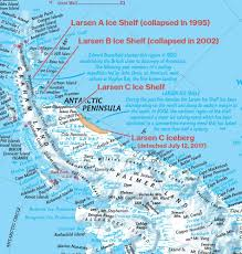 Circuit Of The Americas Map Our Antarctica Maps Show The Larsen Ice Shelf U0027s Stunning Decades