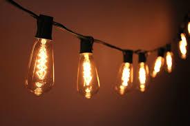 vintage light bulb strands vintage outdoor string lights uk outdoor designs