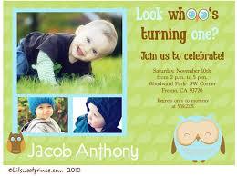 birthday invites excellent baby boy first birthday invitations