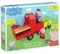 buy peppa pig grandpa pig u0027s train construction argos uk
