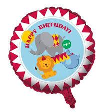 circus balloon circus party circus party foil balloon