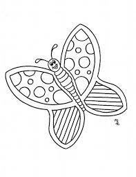 pretty cartoon butterfly lovely pattern coloring