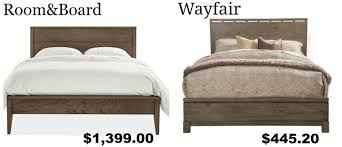 Room And Board Bedroom Furniture Get The Look For Less Room U0026 Board Bedroom Dwell Beautiful