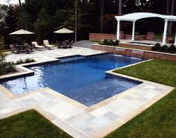 decorating fantastic small inground pool for cozy outdoor home