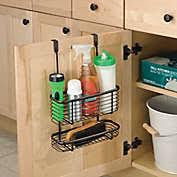 kitchen cabinet door storage racks cabinet door organizer bed bath beyond