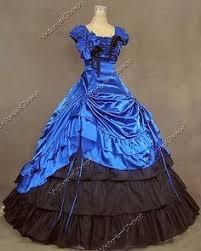 Ball Gown Halloween Costumes Vampire Victorian Dark Evil Dracula Gown Dress Halloween