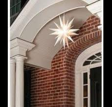 moravian tree topper 12 moravian christmas tree topper or porch light by
