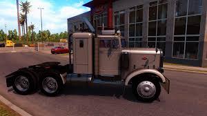 peterbilt peterbilt 351 truck interior v3 0 american truck simulator mod