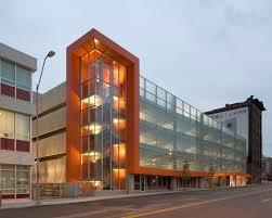 design and construction parking structure civic helix architecture