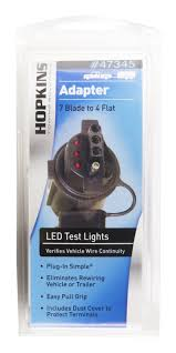 hopkins 7 blade to 4 flat adaptor with led test lights walmart com