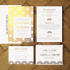 gatsby wedding invitations great gatsby wedding invitation by feel wedding invitations