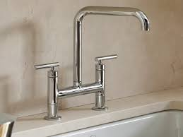 kohler purist kitchen faucet kohler canada purist deck mount bridge kitchen faucet kitchen