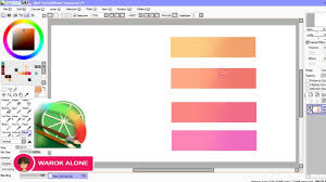 tutorial blending paint tool sai youtube
