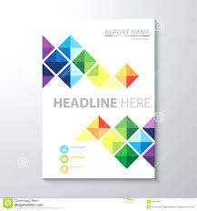 design of cover page for project project title page template