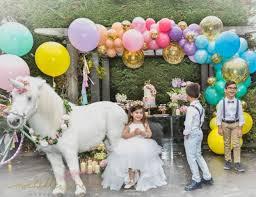 unicorn party supplies outdoor unicorn birthday party idea especialz