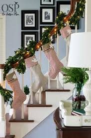 Christmas Banister Garland Ideas 40 Gorgeous Christmas Banister Decorating Ideas Christmas