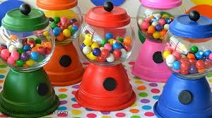 gumball party favors diy gumball machine party favors how to make a gum machine