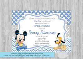 baby mickey baby shower disney baby mickey baby shower invitations mickey baby shower