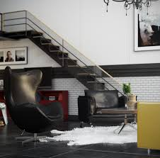 modern loft vray and 3dsmax making of aleso3d just premium