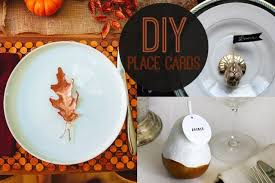 diy place cards for thanksgiving dinner child mode