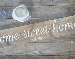 Home Sign Etsy - Custom signs for home decor