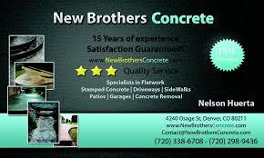concrete business cards charming concrete business cards pictures inspiration business