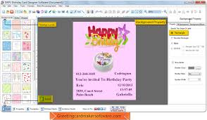 birthday card maker software create kids mom dad birthday cards