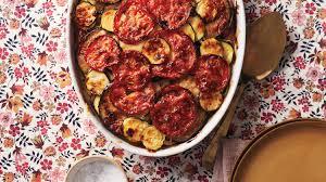 tian provencal with polenta