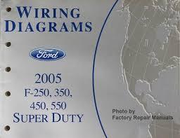 2005 ford f250 f350 f450 f550 super duty truck electrical wiring