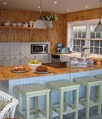 Kountry Kitchen Cabinets Knotty Pine Walls Remind Me Of Home Sweet Home In Herrin