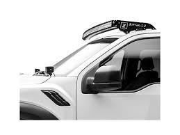 Mounting Brackets For Led Light Bar Zroadz F 150 52 In Curved Led Light Bar W Front Roof Light Bar