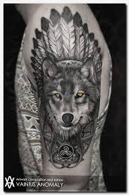 wolftattoo god s sleeve