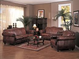 Leather Sofa Decorating Ideas Living Room Decorating Ideas With Brown Leather Furniture
