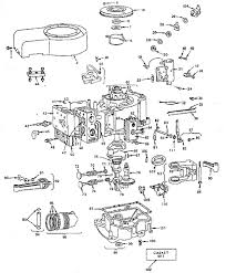 briggs u0026 stratton engine briggs and stratton parts model 252707