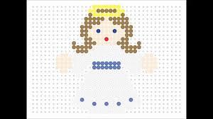hama bead angel christmas series 3 9 youtube
