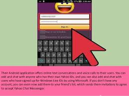 yahoo messenger app for android what are the steps to add friends on yahoo messenger android app