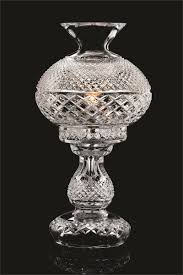 Waterford Table Lamps Accessories Attractive Image Of Curved Clear Glass Waterford