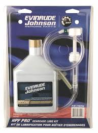 amazon com johnson evinrude hpf pro gearcase lube kit pump