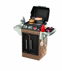 Kitchen Set Amazon Com Little Tikes Get Out N U0027 Grill Kitchen Set Toys U0026 Games