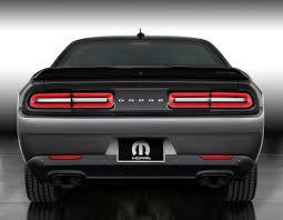 Dodge Challenger Tail Lights - first look mopar u002717 dodge challenger testdriven tv