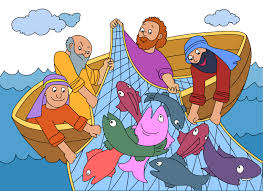 fish net clipart bible story pencil and in color fish net