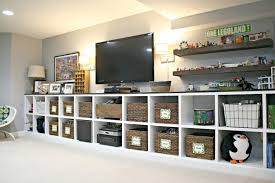 finished basement storage ideas finished basement and rec room