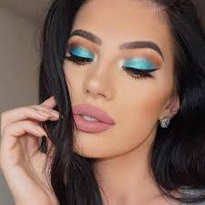 Henna Eye Makeup 25 Best Turquoise Makeup Ideas On Pinterest Turquoise Eye