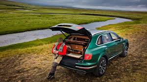 customized bentley bentley bentayga now customized by mulliner for fly fishing