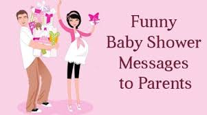 happy family baby shower card messages husband and