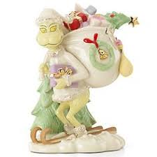 lenox figurines animated characters dr seuss grinch s wagon
