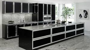 cuisine noir modele cuisine noir et blanc modele cuisine blanc laque modele