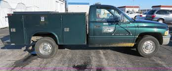 Dodge Ram Utility Truck - 1998 dodge ram 2500 utility truck item f4359 sold may 2