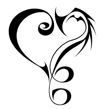20 beautiful tribal heart tattoos only tribal